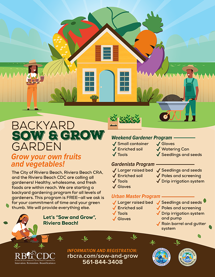 Backyard Sow and Grow Garden